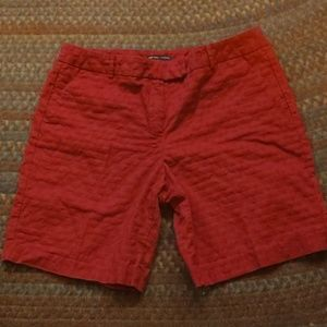 2/$20 NY&CO patterned red shorts